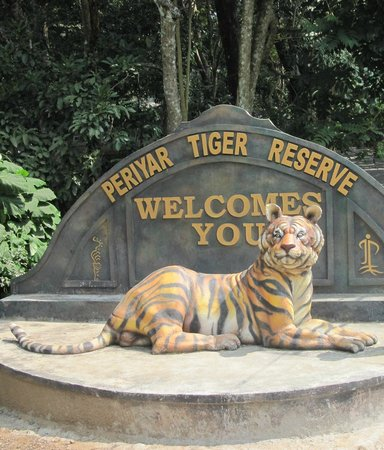 Rangerwood Nature Castle: Main Entrance Periyar Tiger Reserve