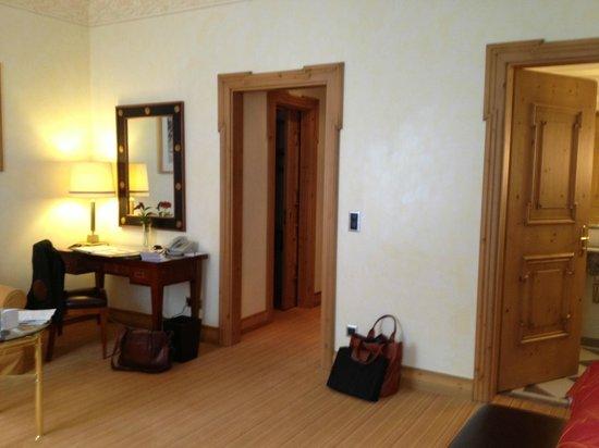 Grand Hotel Kronenhof: Zimmer
