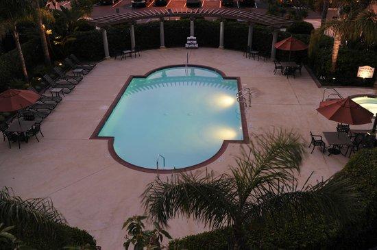 Hilton Garden Inn LAX/El Segundo: The Garden Pool Dek