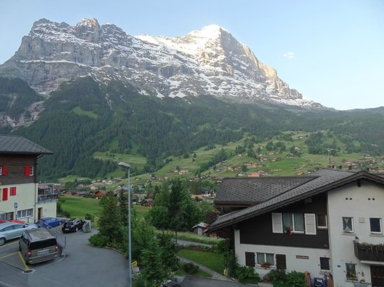 Jungfrau Lodge Swiss Mountain Hotel: View of the Eiger from our room