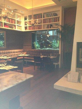 The Strand Bistro: View in restaurant