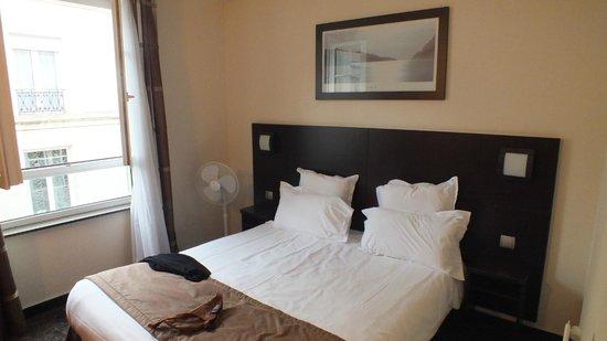 Hotel de l'Europe : Bedroom