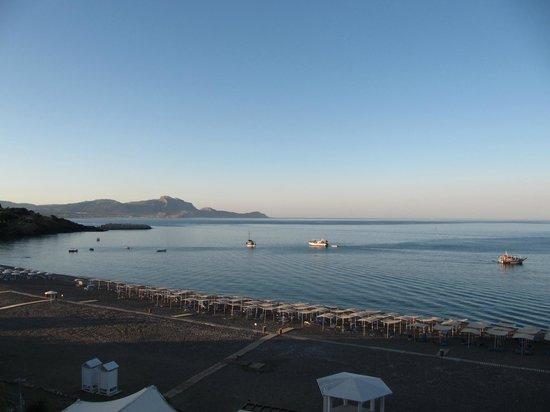 Sensimar Lindos Bay Resort & Spa: Panorama dalla camera