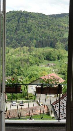 Hotel Taillard : Visão a partir da janela do quarto