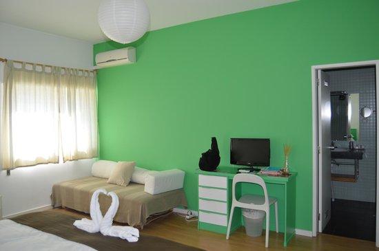cuarto verde: fotografía de Casa Azul Sagres - Rooms ...