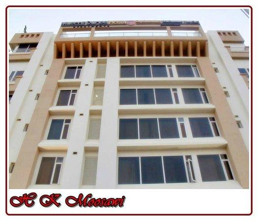 Muscat Dunes Hotel: Hotel Elevation