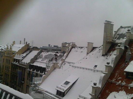 Platzl Hotel : vista desde la habitación