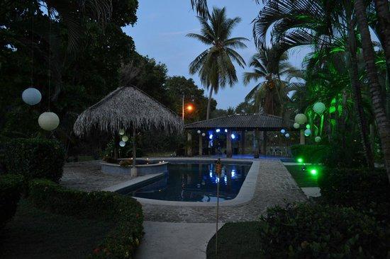Hotel Delfin Playa Bejuco: Pool area