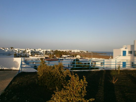 Aparthotel Costa Mar: View from rear of hotel