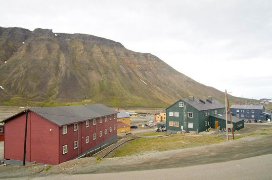Spitsbergen Hotel : View from rooms