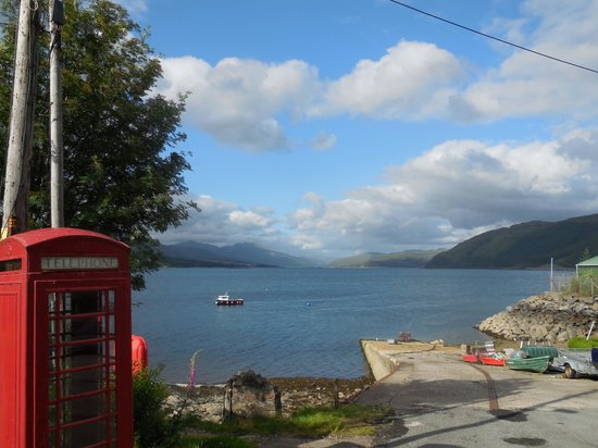 Stationmaster's Lodge: View from the Hostel