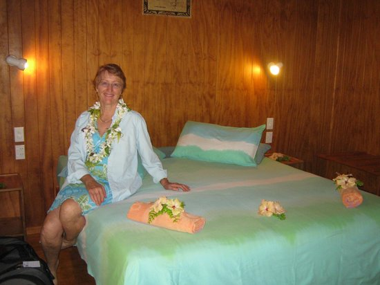 Aitutaki Village: Our room on arrival
