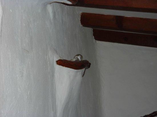 Domaine de Piscia: ampoules d'éclairage ds la chambre