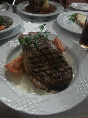 Restaurante Giovanni: My beautiful steak I had