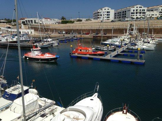 Menorca Blava: Puerto de salida
