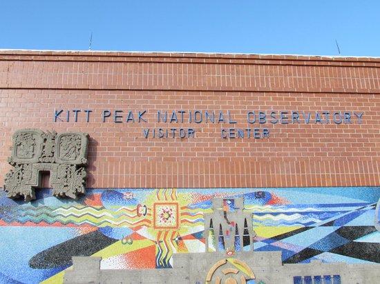 Kitt Peak National Observatory: Entrance to the information center