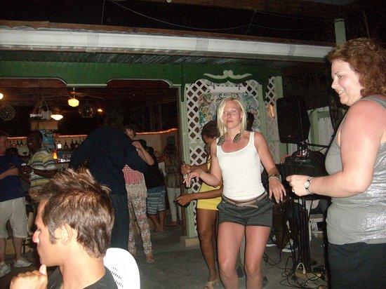 Dancing the night away at the Salt Raker Inn