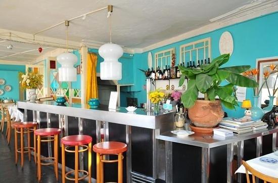 Cometa Restaurante: Adicionar uma legenda
