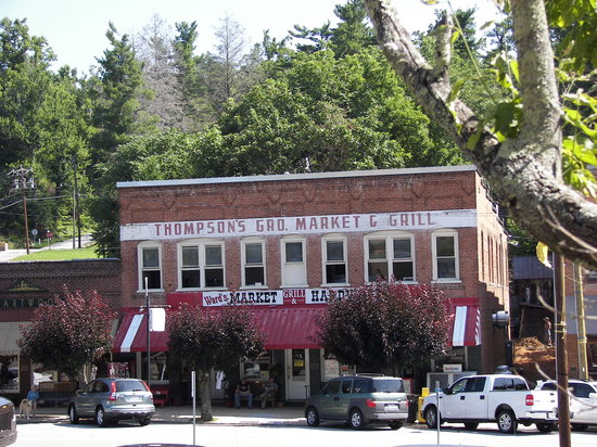 Historic Saluda features many wonderful buildings in its officially designated downtown Historic