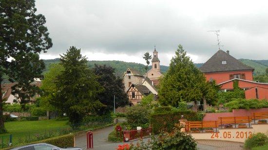 BEST WESTERN Hotel le Schoenenbourg : Visa do apartamento da frente