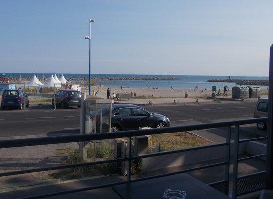 Hotel La Conga : Vue mer de la terrasse de notre chambre