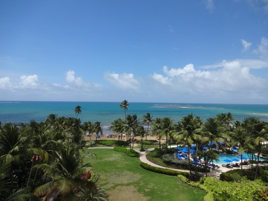 Wyndham Grand Rio Mar Puerto Rico Golf & Beach Resort: view from 7th floor room