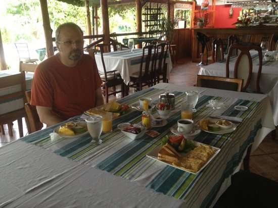 Siloe Lodge: Great breakfast, beautiful setting