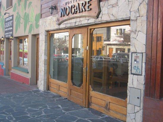 Hostería Nogare: Frente de la Hosteria