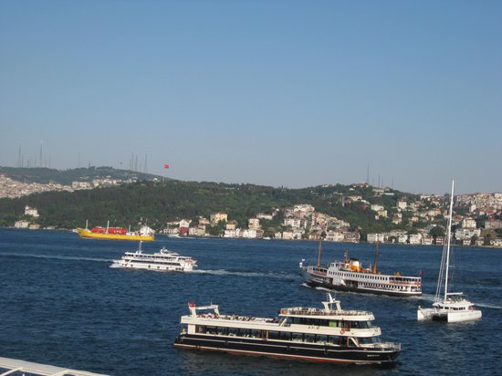 Ciragan Palace Kempinski Istanbul : view from our second room