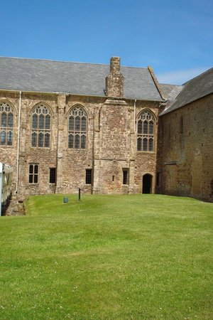 Cleeve Abbey: Part of the abbey