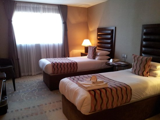 The Alona Hotel: Superior twin room - beds