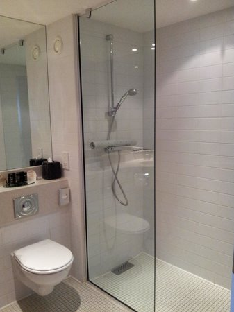 The Alona Hotel: The wet room
