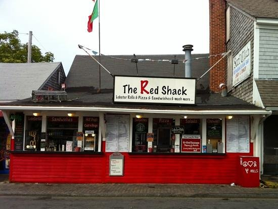 The Red Shack: Add a caption