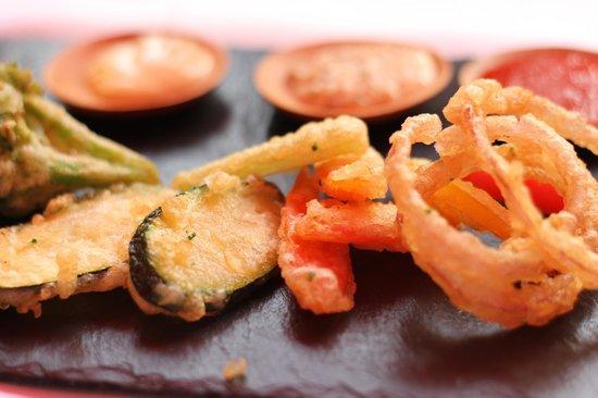 Le Saint Paul: Tempura di verdure fritte
