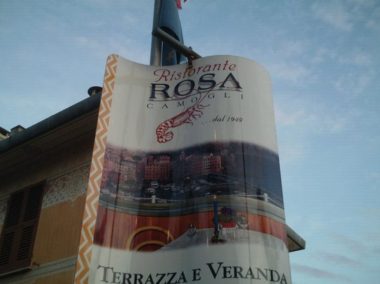 Ristorante Rosa : Restaurant sign