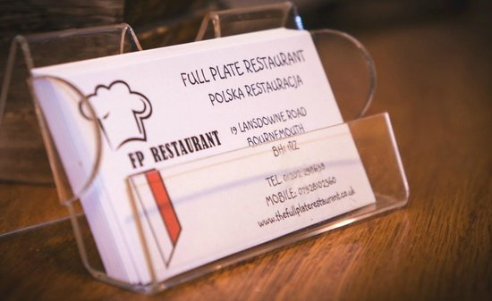 The Full Plate Restaurant: Full Plate Restaurant