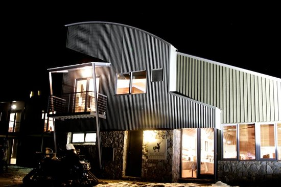 The Stables Perisher: The Stables at night