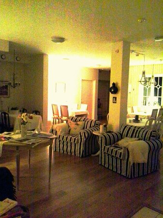 Hotel Lanterna: sitting room