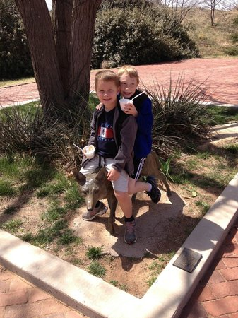 National Ranching Heritage Center : in the sculpture garden