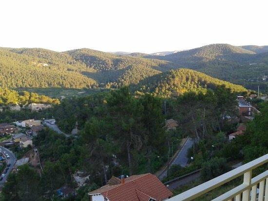 Vista panorámica desde la habitación del hotel Can Fisa