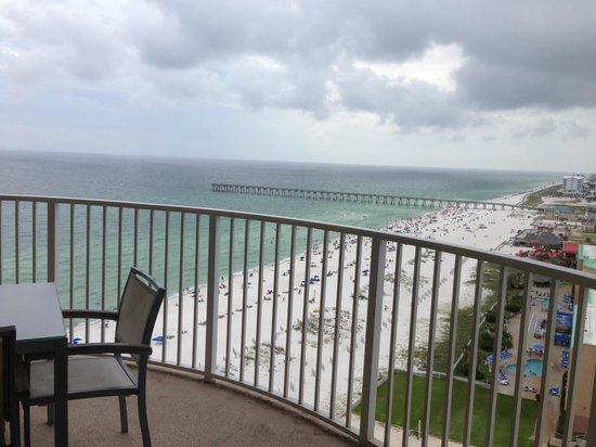 Hilton Pensacola Beach: lovely view