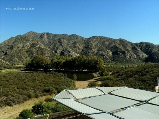 Hosteria Valle Fertil : Vista desde la puerta
