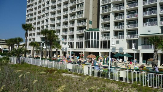 Hampton Inn & Suites Myrtle Beach/Oceanfront: From the beach