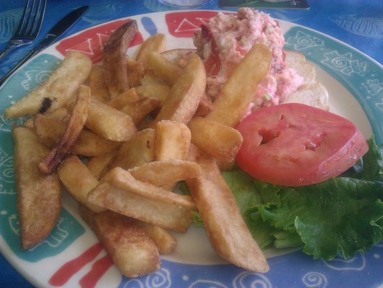 Sea Critters Cafe : Lobster sandwich