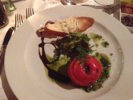 Baron Resort Sharm El Sheikh: Italian restaurant starter .....