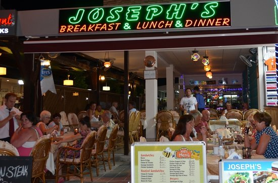 Joseph's Restaurant: Our new restaurant!
