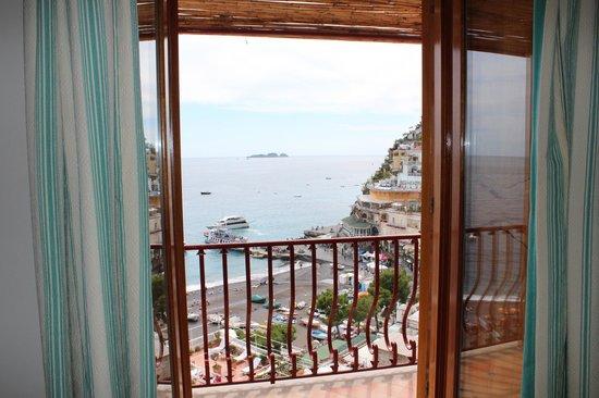 Hotel Buca di Bacco: A vista de nosso quarto