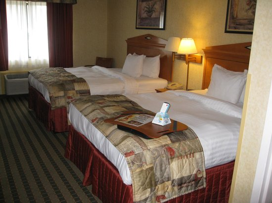 Best Western Rochester Marketplace Inn: room (beds)