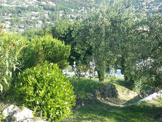 Le Relais du Peyloubet: Grounds looking towards the pool