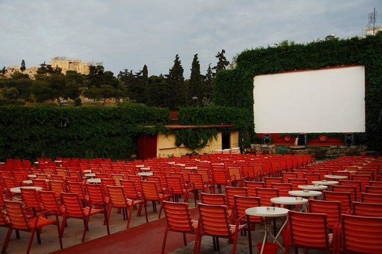 ‪Open Air Cinema THISION‬